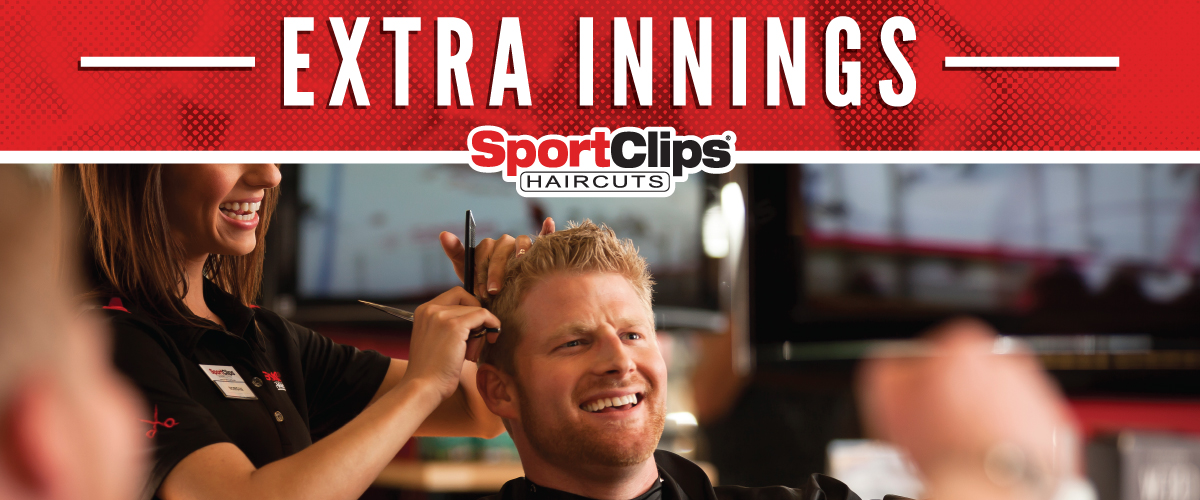 The Sport Clips Haircuts of Millpond Village Extra Innings Offerings